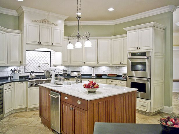 Kitchens With Painted Cabinets  Painting Kitchen Cabinets White Amusing How To Paint Kitchen Cabinets White Design Inspiration