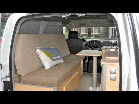 Camper Van Conversions Nissan NV200