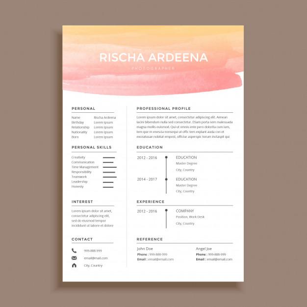 graphic designer resume sample Google 搜尋 Graphic