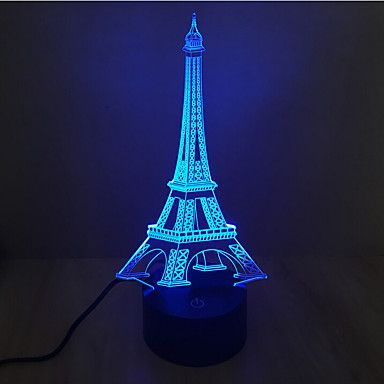 28 37 3d Nightlight Decorative Led 1 Pc Led Art Lumiere Led Lamp