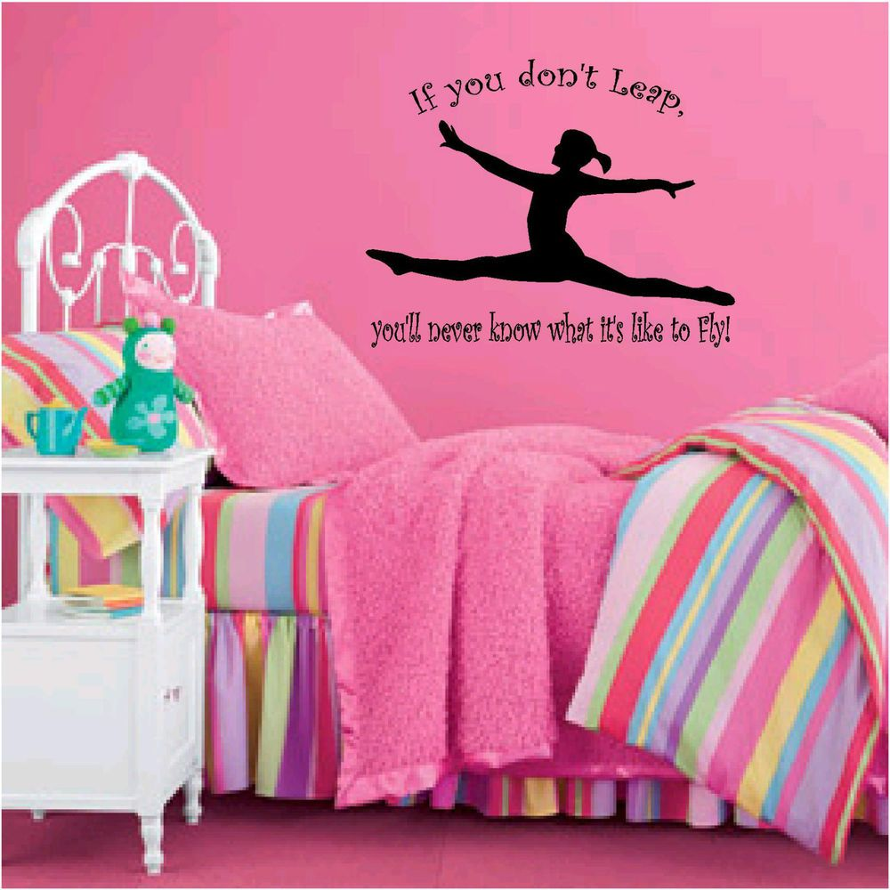 Gymnast Room Ideas | Inspirational Sports Quotes For Girls Gymnastics  Gymnastics