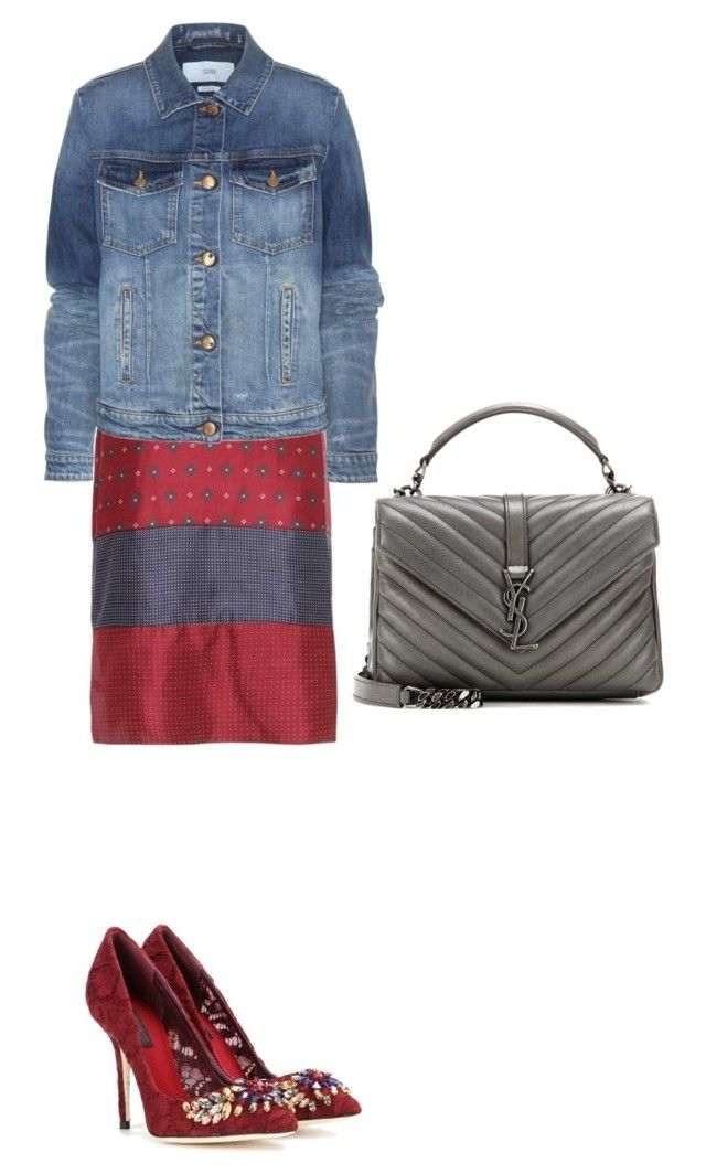 """""""How to up dress up a slip dress for fall"""" by laiamagazine on Polyvore"""