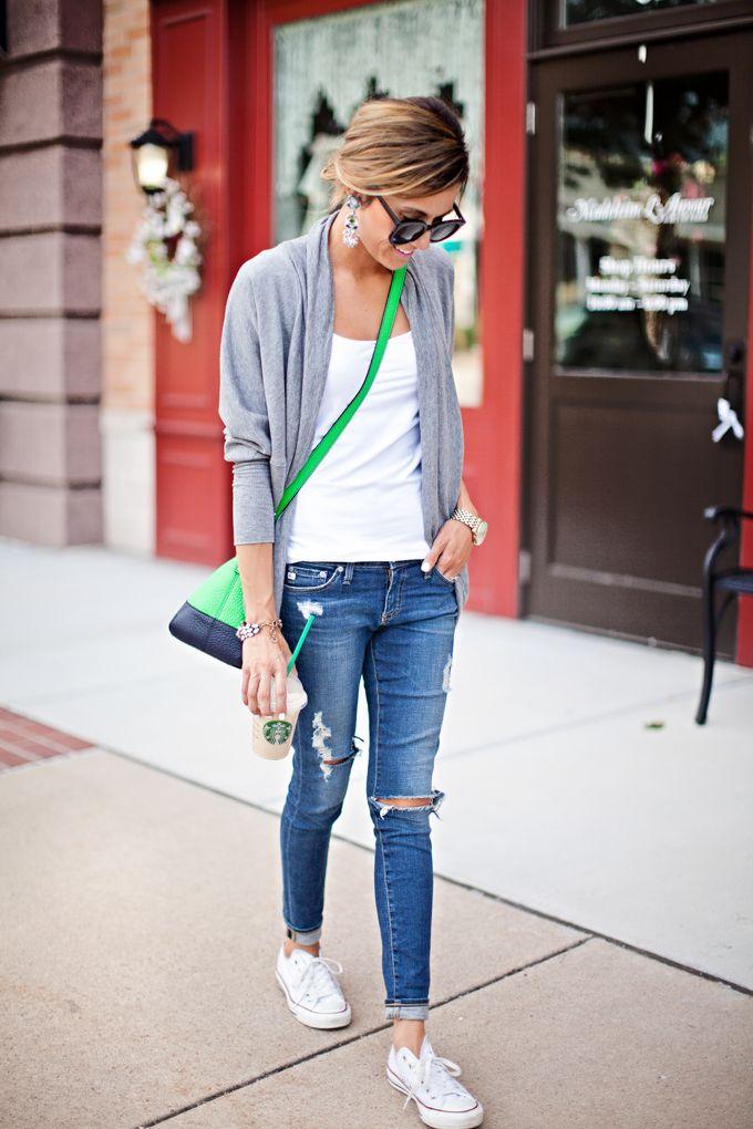 Casual Outfits With Converse c1e13988e1