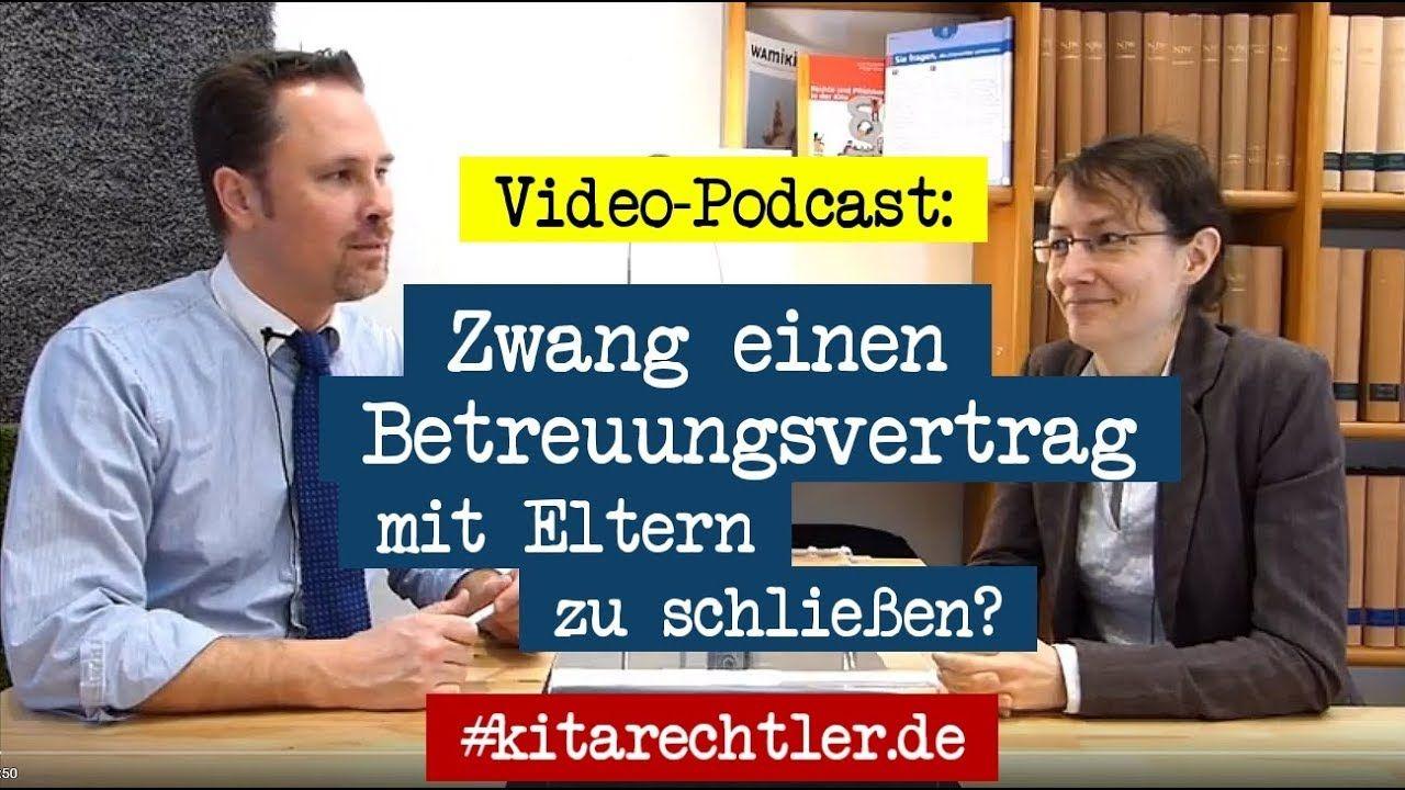 Kitarecht Folge 262 Müssen Freie Kita Träger Betreuungsverträge Mit