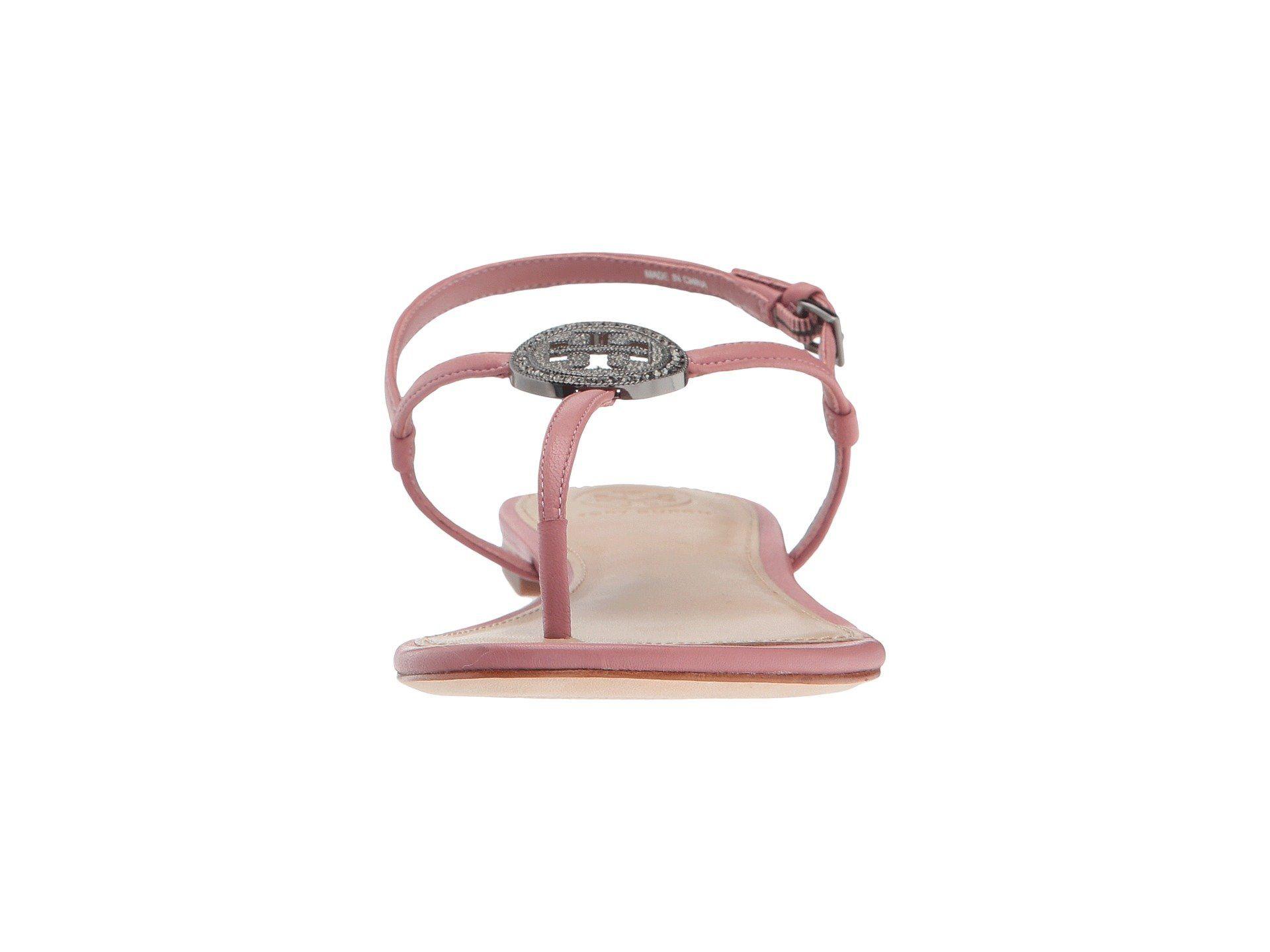 b765e6d00e4b Tory Burch Liana Flat Sandal Pink Magnolia 6 -- Visit the image link more  details