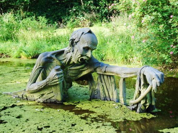 Victor S Way Indian Sculpture Park Statue Paesaggi Dublino