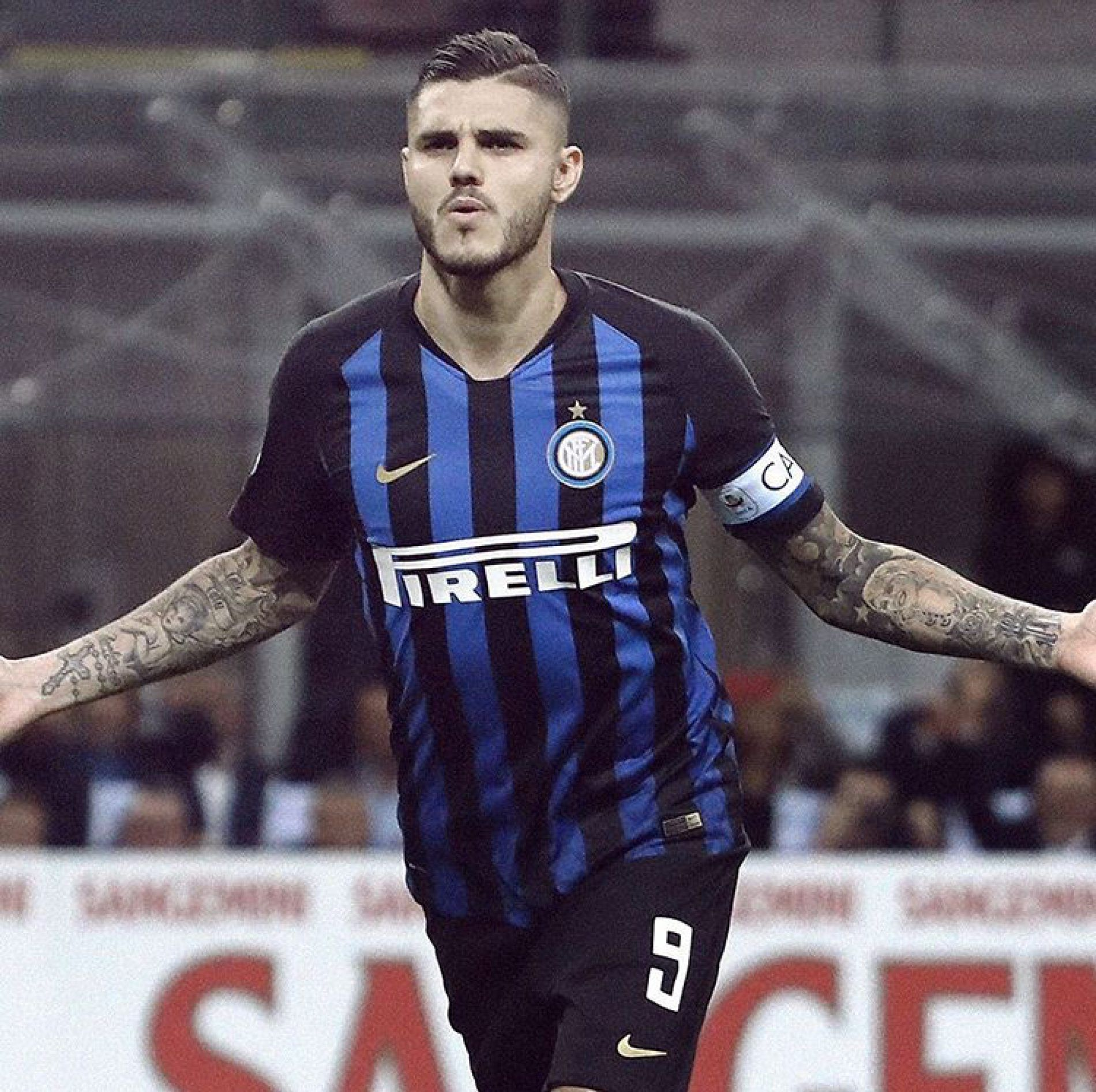 Icardi al 92' l'Inter batte il Milan all'ultimo respiro
