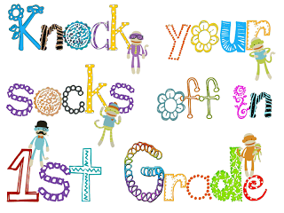 FREEBIE!!!! Sock Monkey Poster for the hallway from I'm Not Your Grandpa, I'm Your Teacher