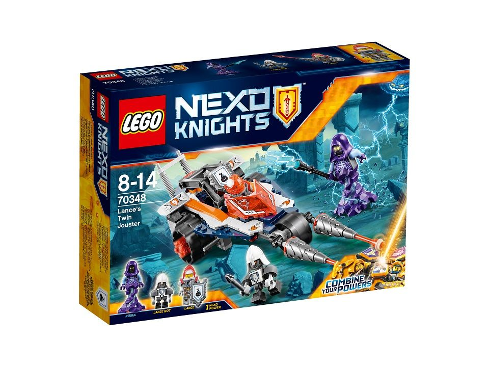 Lances Doppellanzen-Cruiser 70348 LEGO Nexo Knights
