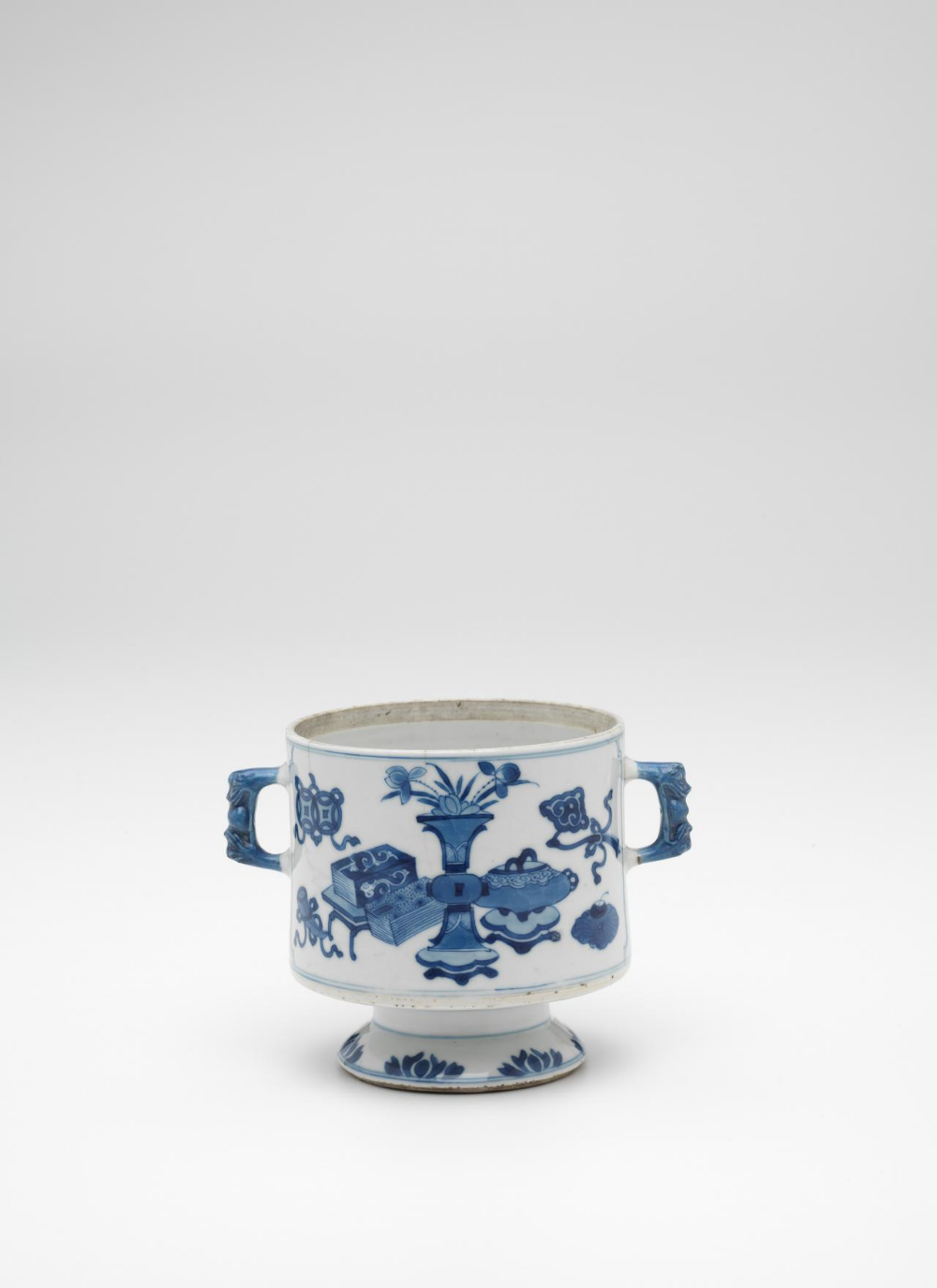 Pin On Chinese Blue White Qing After