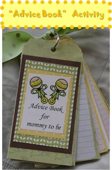 book baby showers shower activity advice book baby stuff baby shower