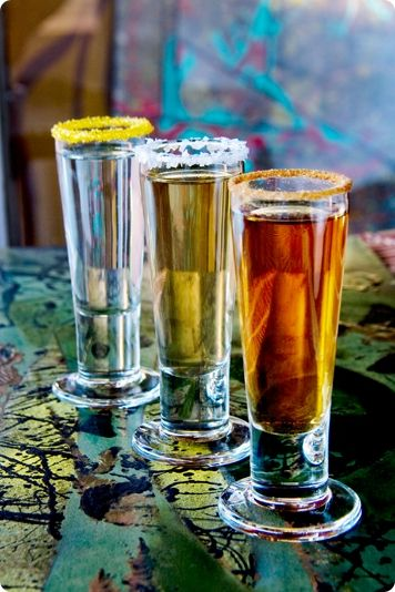 The fanciest Tequila shots I have ever seen...