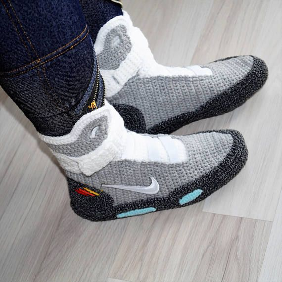 sports shoes fd7eb ed77a Back to the Future Nike Air Mag Mommy and me Matching Shoes ...