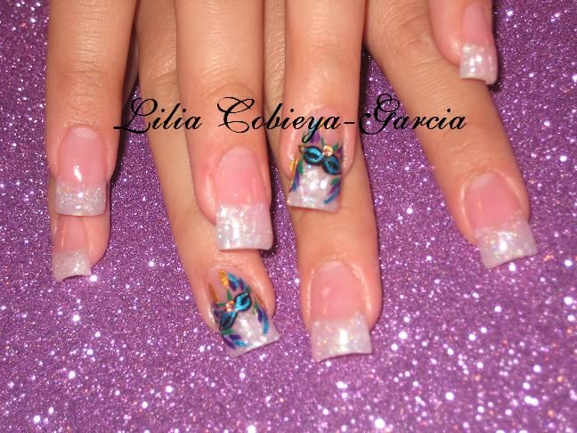 mardi gras nail art ideas | 15nera/ Mardi Gras !WOW! - Nail Art ...