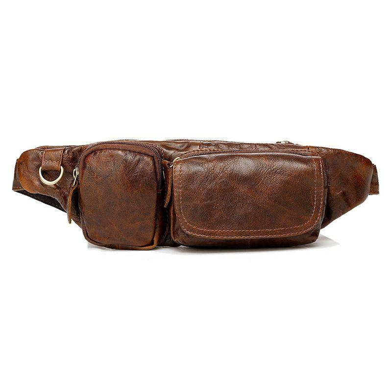 c0fd7d23 Bolso riñonera vintage de pecho para hombres y mujeres bolsas de pequeñas  moda al aire libre
