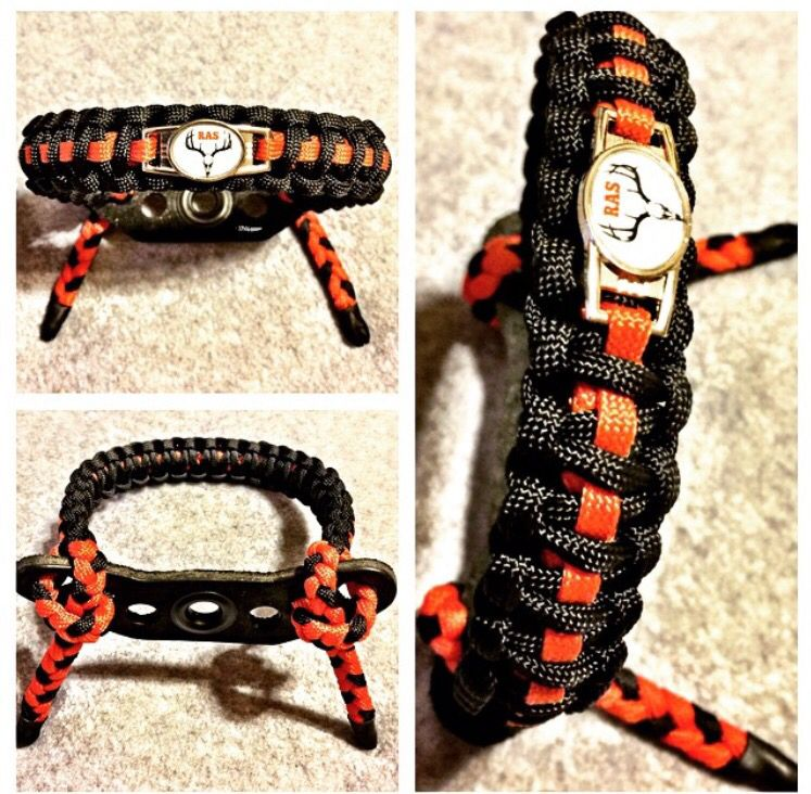 Custom Wrist Sling Black,red And Camo