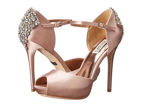 Womens Shoes Badgley Mischka Gene Blush Satin