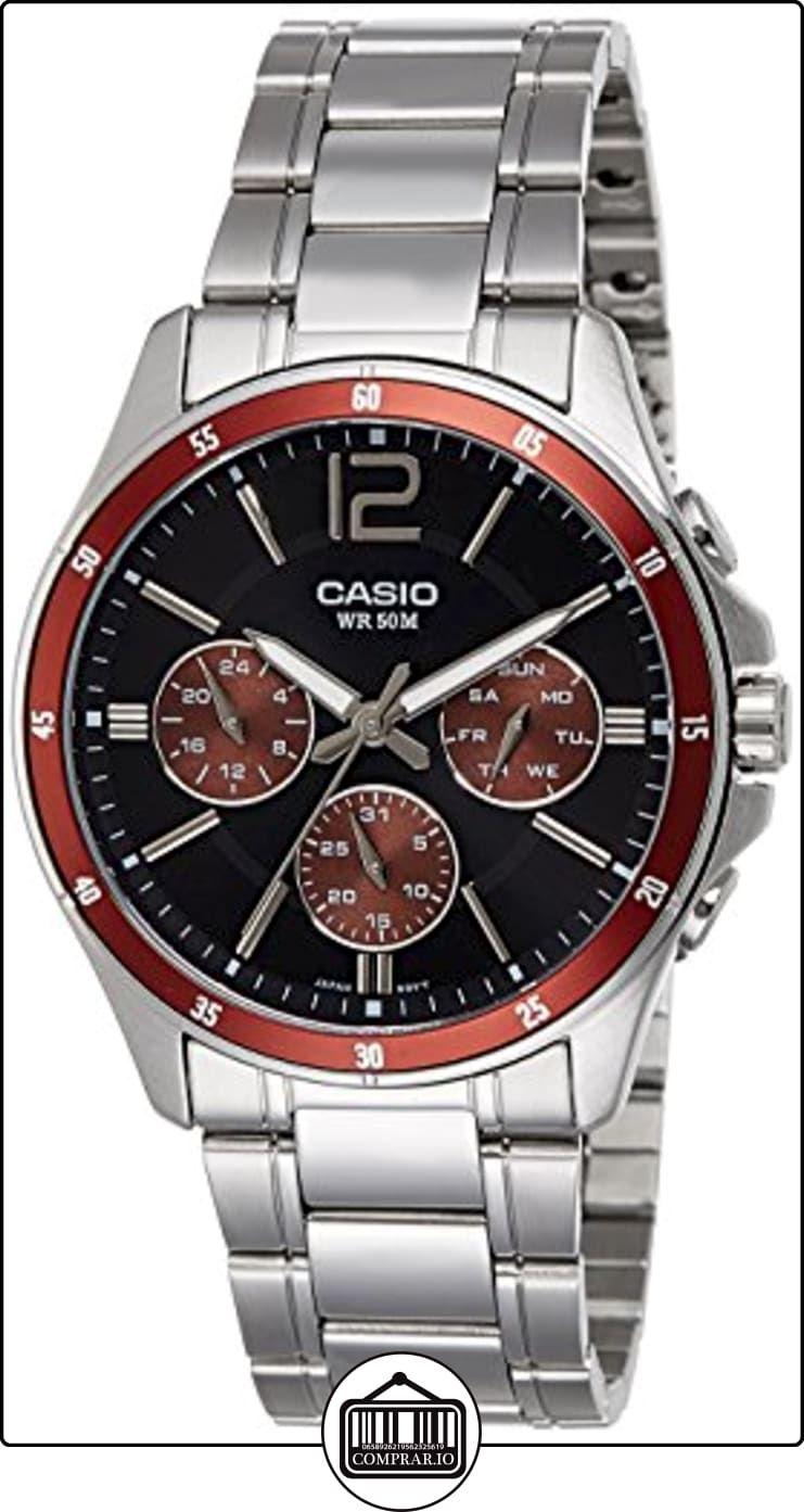 9d32a558a2ca CASIO MTP-1374D-5A - Reloj con movimiento cuarzo