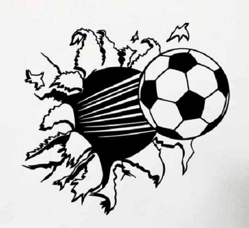 Plantillas Tatuajes De Futbol Soccer Ball Soccer Soccer Poster