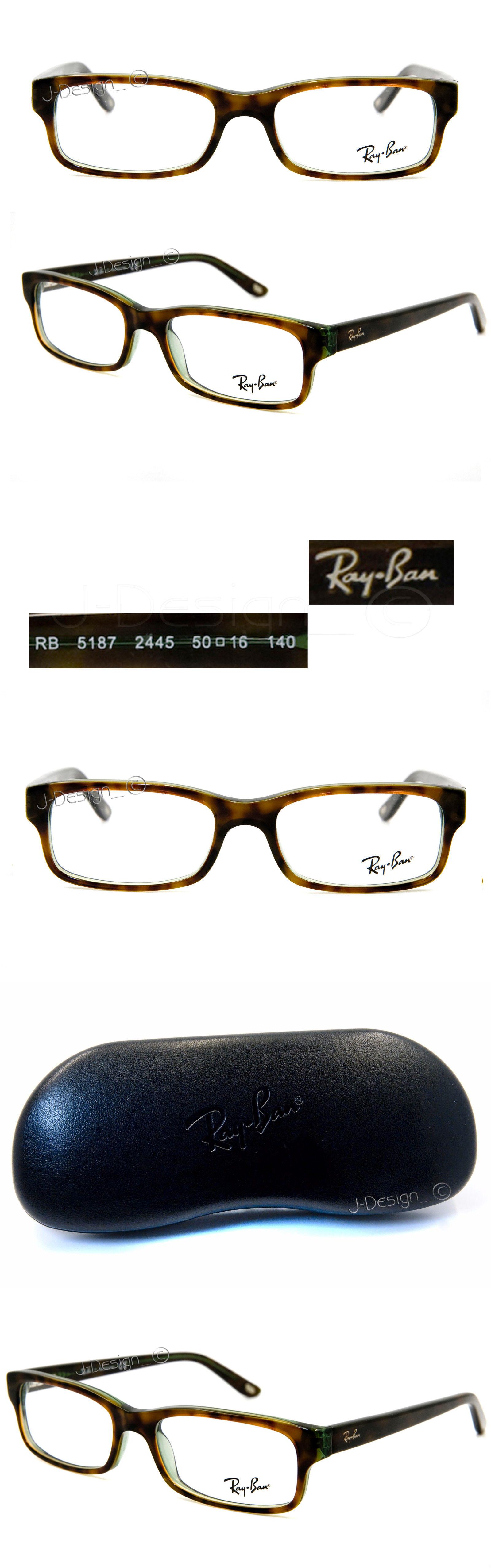 e6d60b94da Eyeglass Frames  Ray Ban Rb 5187 2445 Havana On Green 50 16 140 Eyeglasses  Rx Made Italy - New -  BUY IT NOW ONLY   95.88 on eBay!