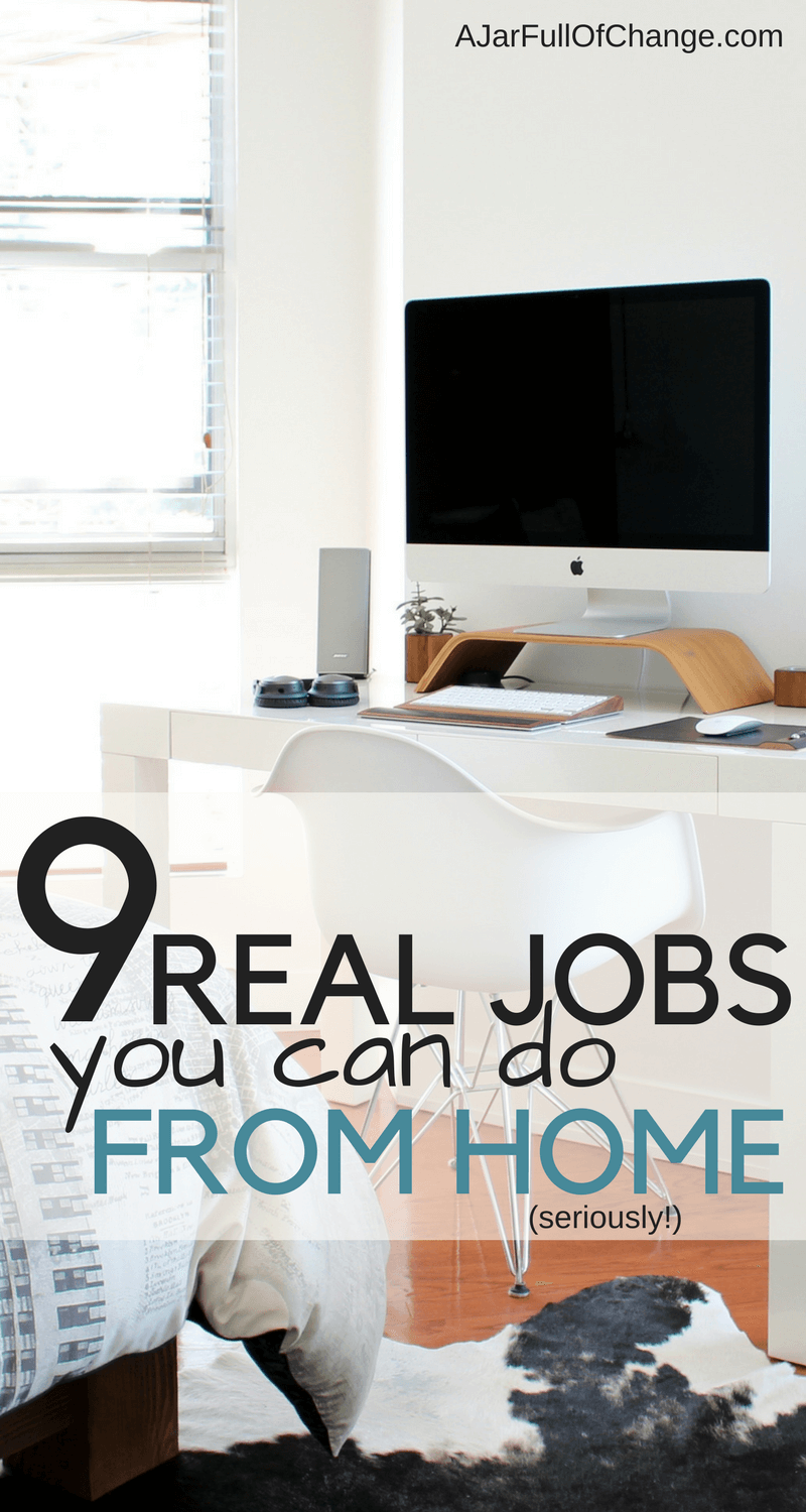 Ditching the 9-5 may be easier than you think with these real jobs you can do from home. Make money online, on your own terms.