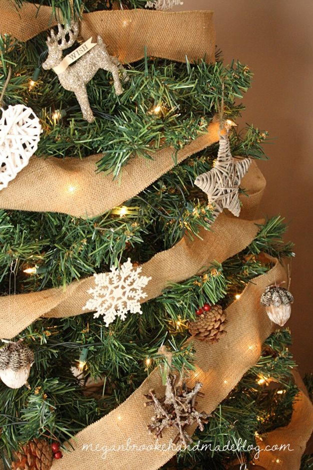 Rustic Christmas Tree 2012 - Megan Brooke Handmade