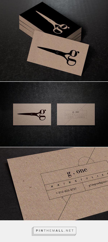 G One On Behance Print Type Visitenkarten Design