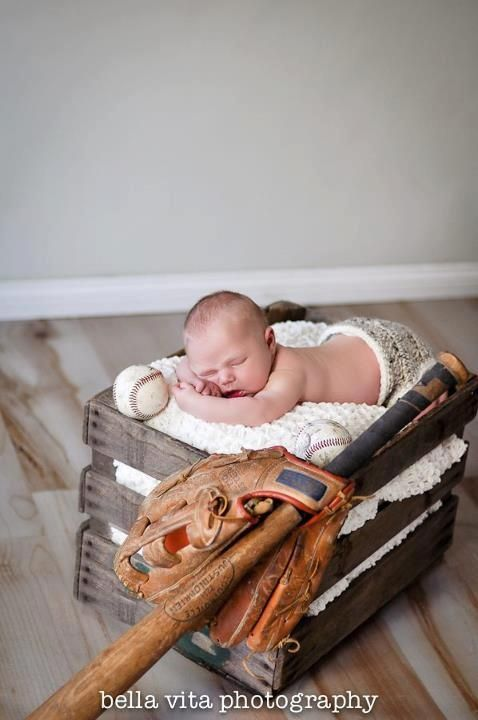 Newborn Baseball Picture Ideas