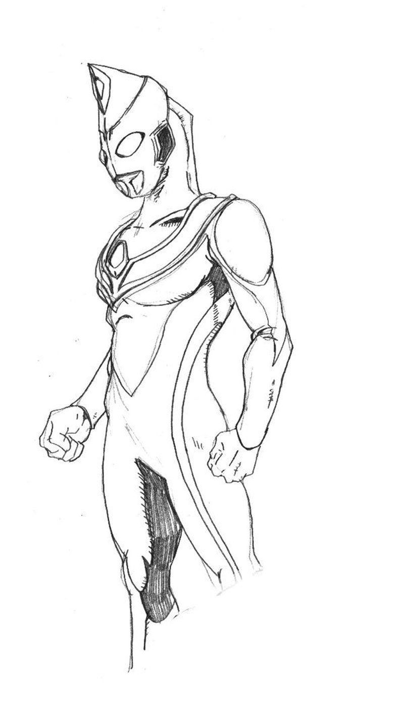 Ultraman Taro Coloring Pages Print For Those Of You Who Are Movie Lovers Who Have A Super Hero Genre From Japan You Must Have Heard The Ultraman Film Ultrama [ 1436 x 800 Pixel ]
