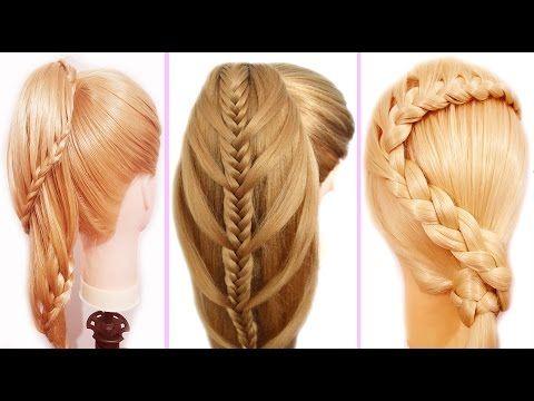Peinados faciles y rapidos para pelo chino coletas con - Trenzas peinados faciles ...