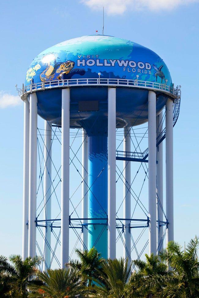 Water Tank   Photo By Greg Wilson (Hollywood, Florida) Just Off Sheridan  Street