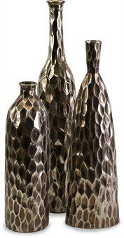 IMAX 40227-3 Bevan Ceramic Vases, Set of 3 * Want to know more, click on the image.