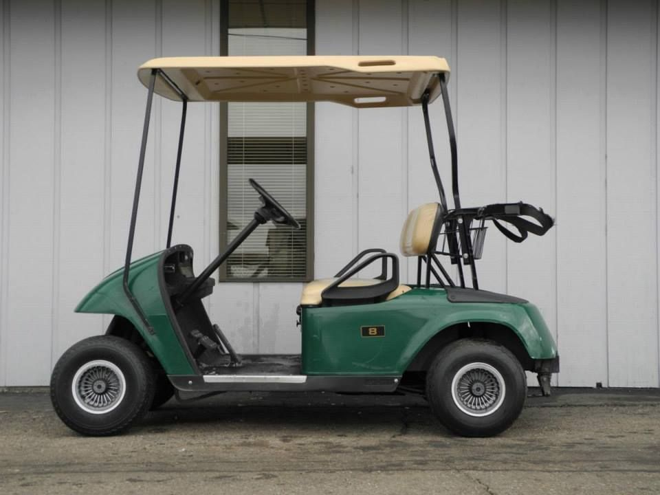 We Just Received Another Batch Of 2000 And 2001 Model E Z Go Txt Gas Golf Cars With Green Bodies Prices For The 2000 Model Golf Carts Golf Car Used Golf Carts