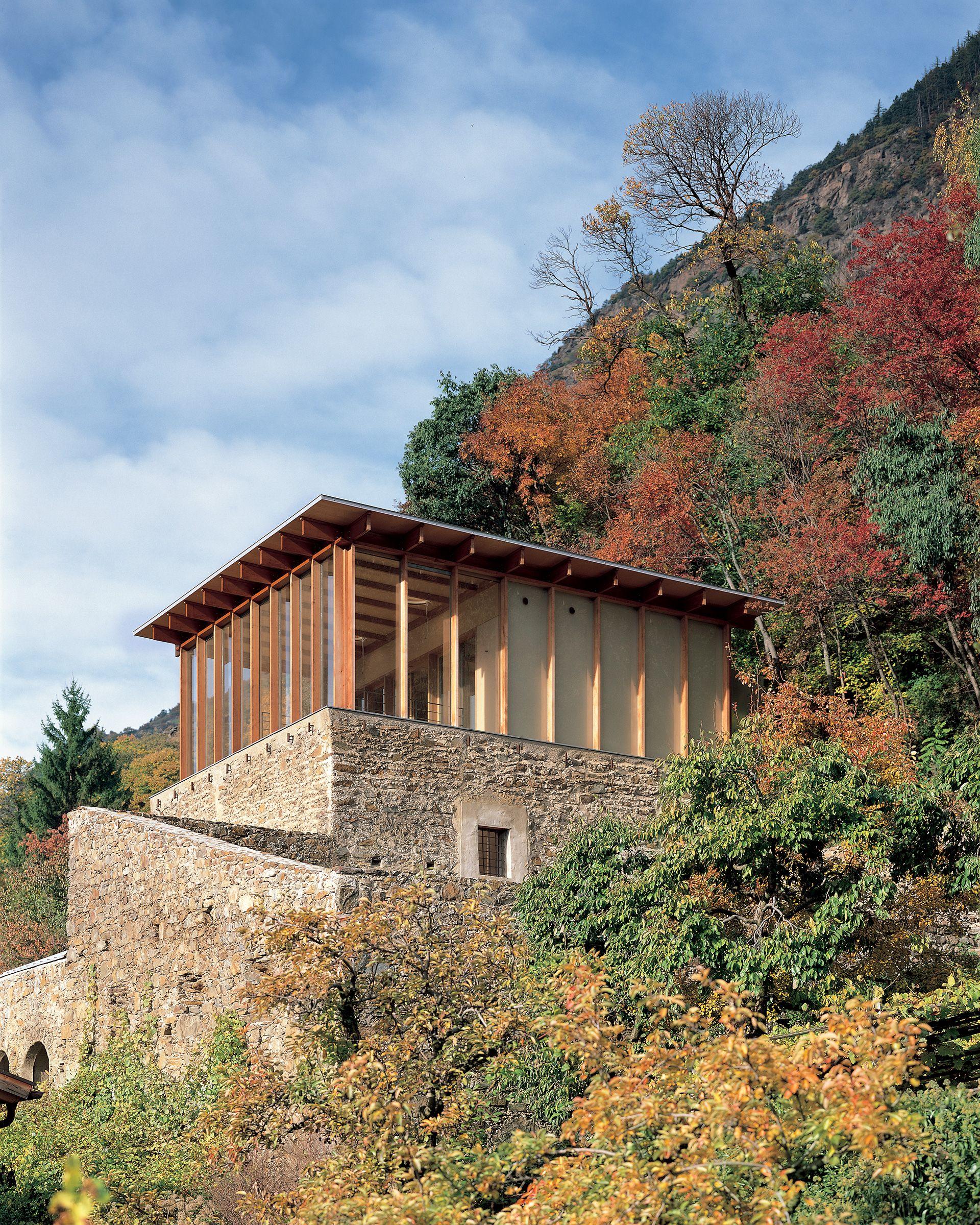 Haus Knoll, Galsaun, Kastelbell   architect Werner Tscholl ...