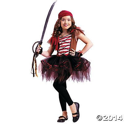 Batarina Pirate Girl\u0027s Costume Disney fish extender ideas - halloween costumes for girls ideas