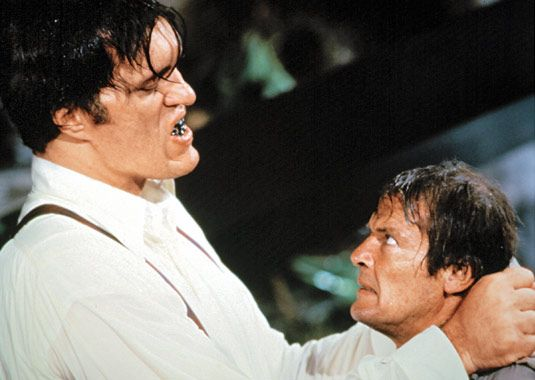 23. Moonraker (1979) Box Office: $70.3 million domestic/$210.3 million worldwide* Director: Lewis Gilbert Theme Song Performed By: Shirley Bassey