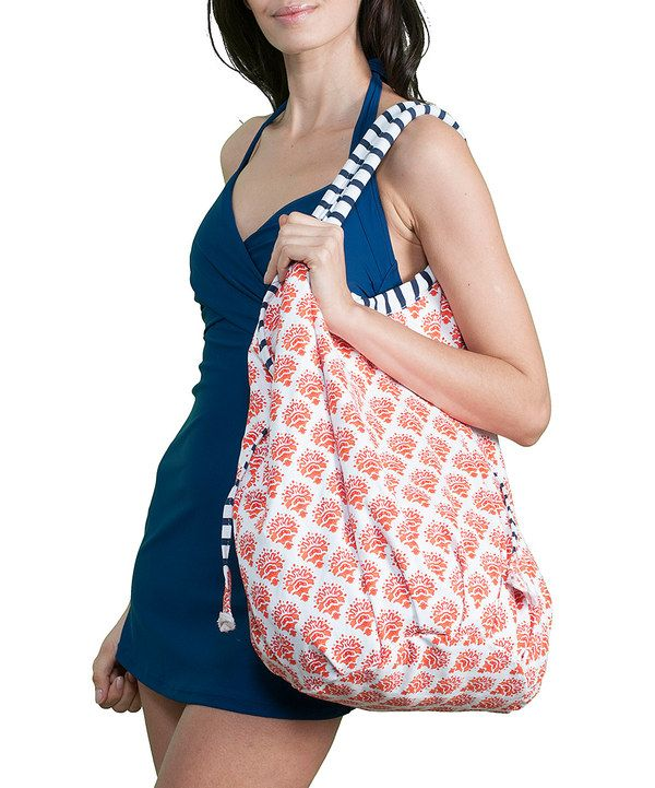 Take a look at this Orange Crush Canvas Tote on zulily today!