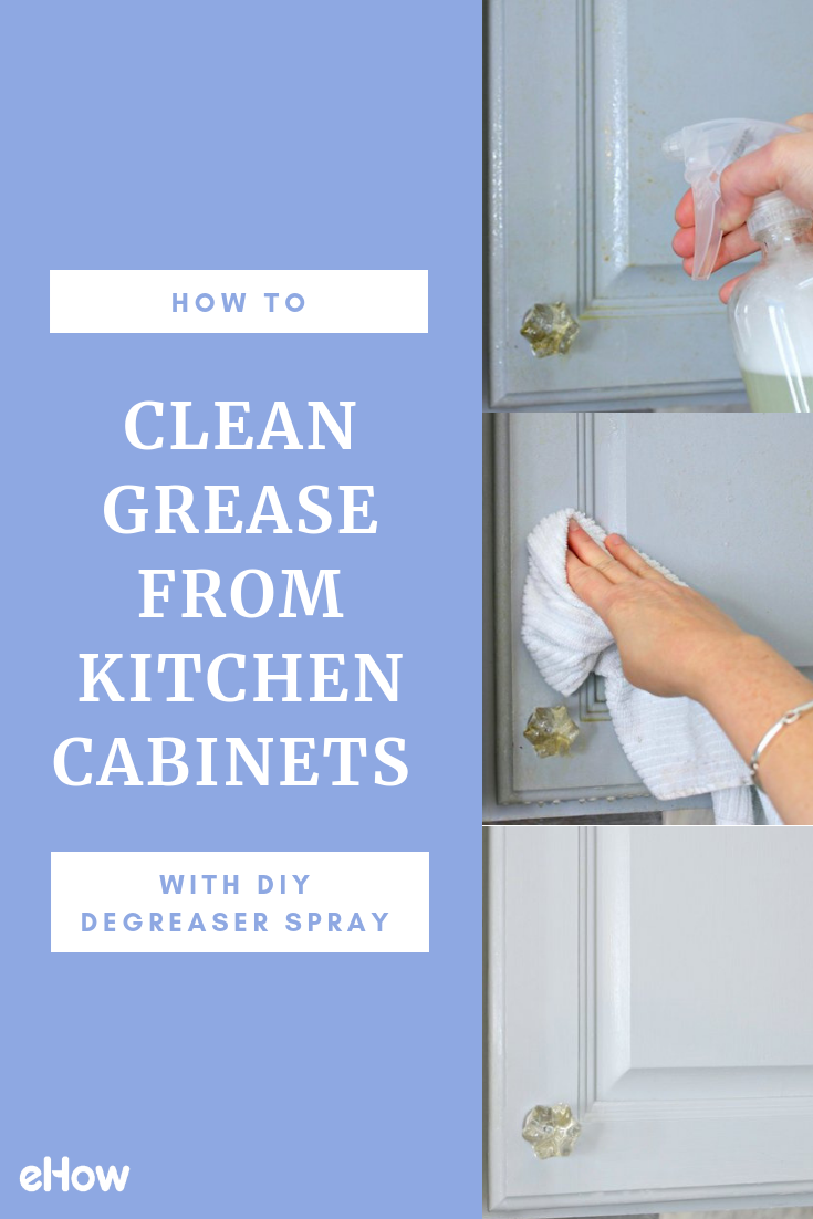 How to Clean Grease from Kitchen with DIY