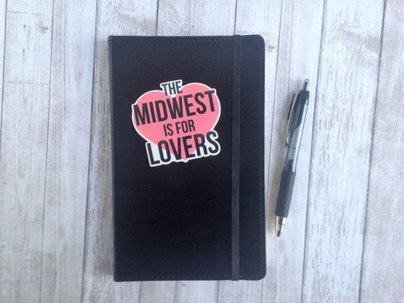 Midwest Is Best Sticker All Weather Glossy Vinyl Sticker 3 X 2 8 Inches Vinyl Sticker Goal Charts Vinyl