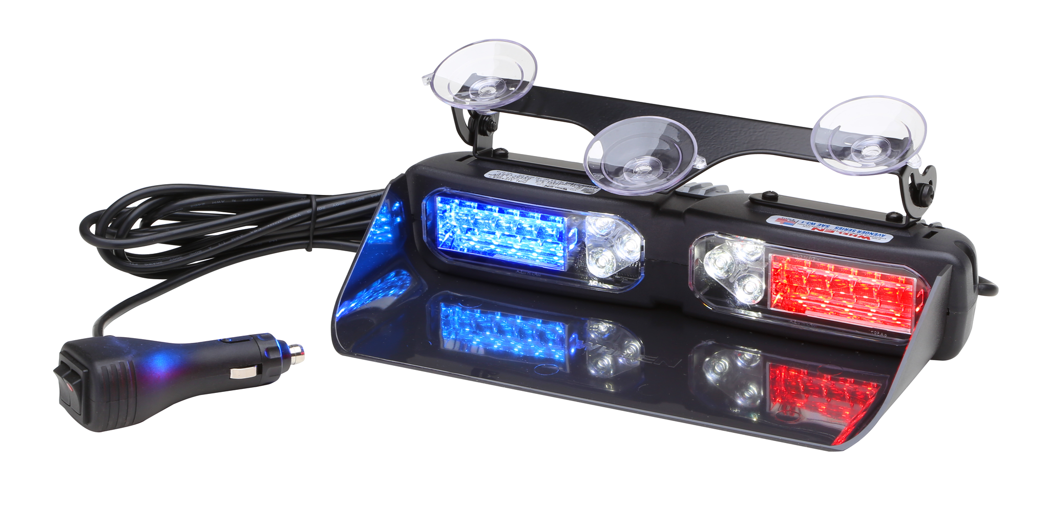 Whelen Dual Avenger Linear Super Led Dash Deck Mounted Light With Also Found A Circuit That Strobes The Leds Like Police Lights Two Lr11 Take Downs