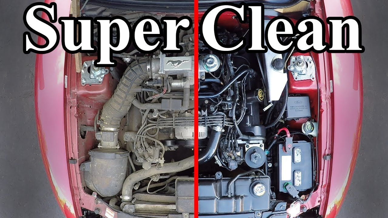 How To Super Clean Your Engine Bay Clean Your Car Engine Detailing Car Detailing