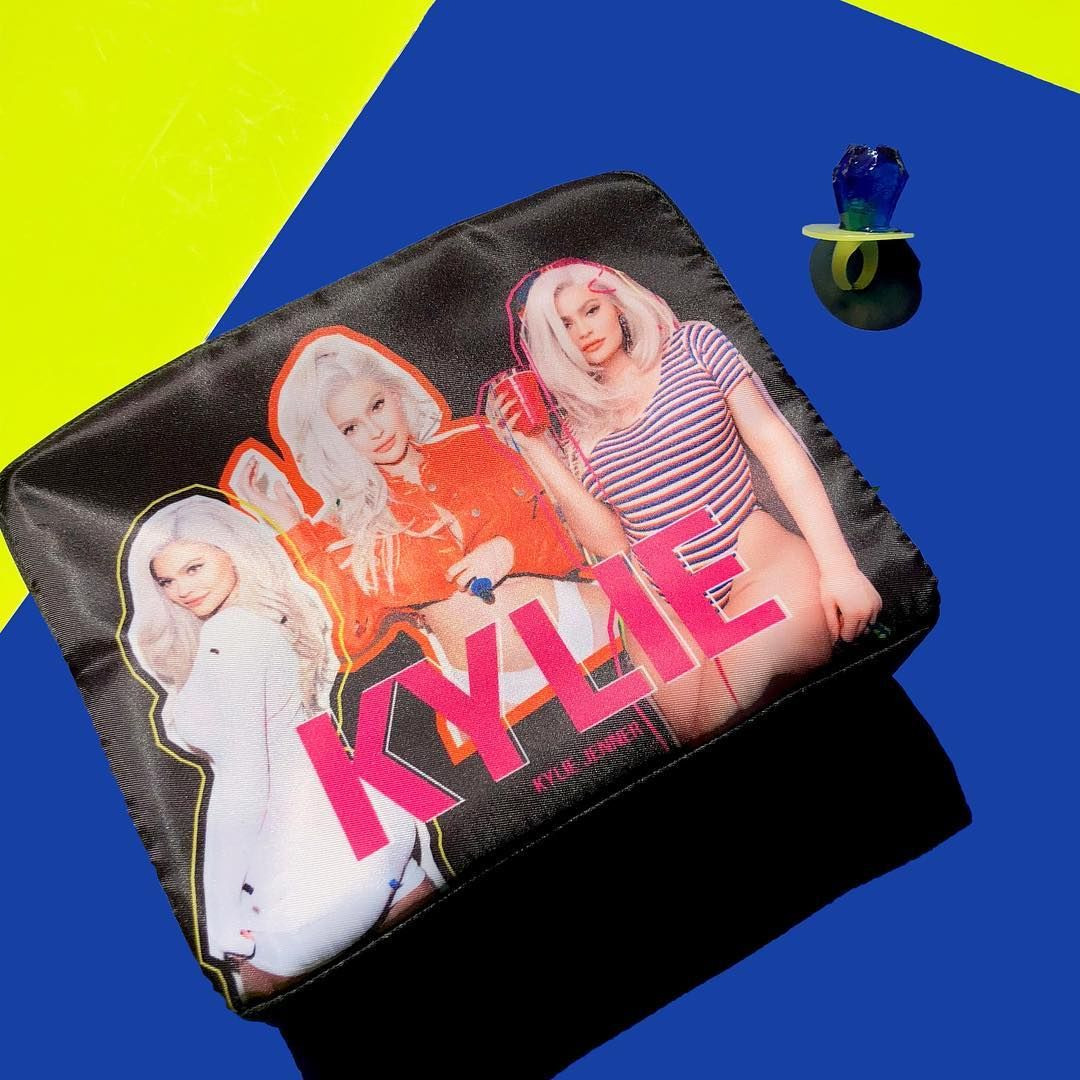 The Kylie 21 Birthday Collection Makeup Bag August6