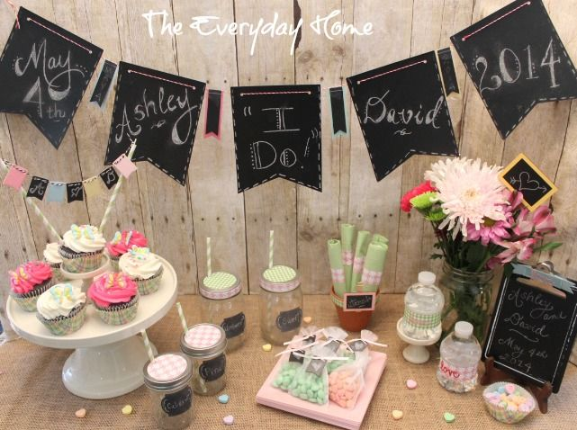 Easy And Budget Friendly Bridal Shower Ideas From The Everyday