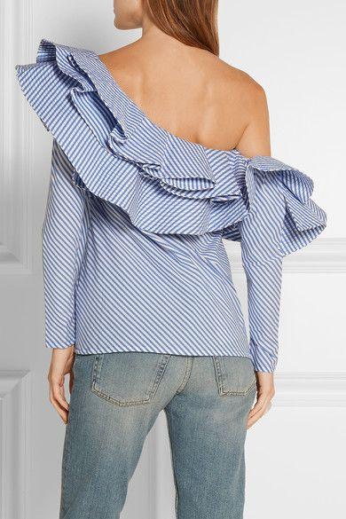 Johanna Ortiz ruffle shirt