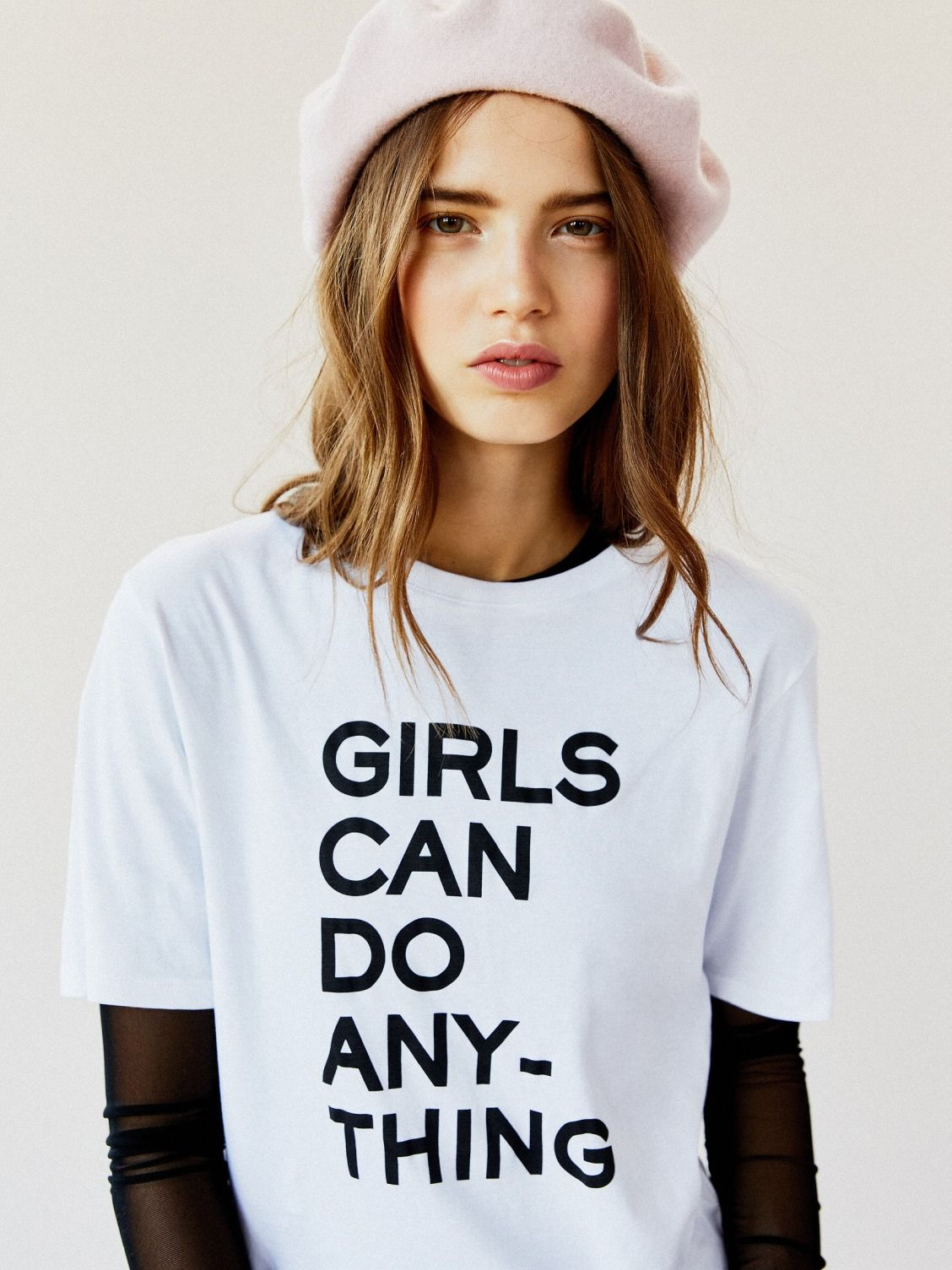Girls Can Do Anything Tee Tees University Style Free People Clothing Boutique
