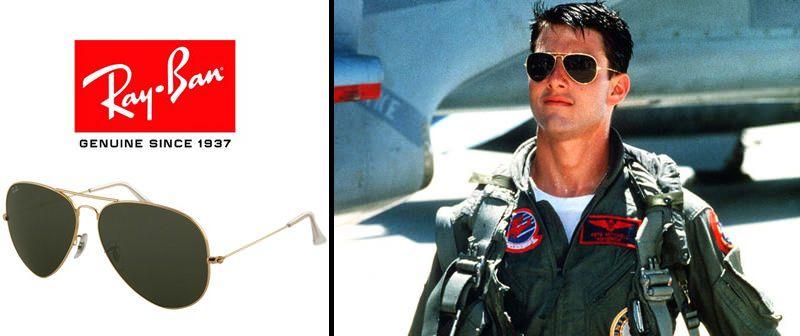 ray ban aviator gun