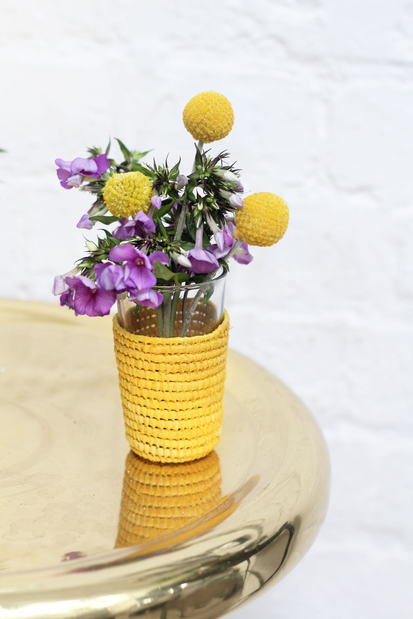 Flowers in vase next day delivery - These Craspedia Will Brighten Any Room Shop The Flowers At Bloom Wild For Letterbox Friendly Delivery And Free Next Day