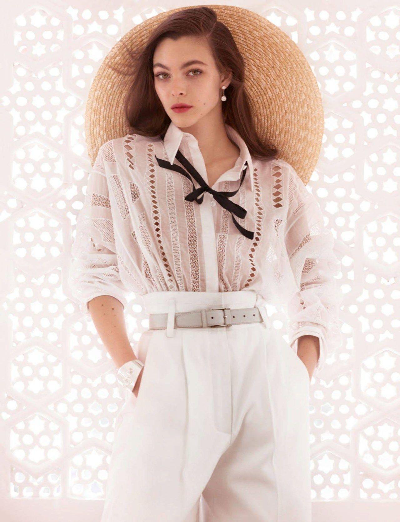 India Song Publication: Vogue Paris May 2017 Model: Vittoria Ceretti Photographer: Mario Testino Fashion Editor: Anastasia Barbieri Hair: Christiaan Make Up: Charlotte Tilbury PART I