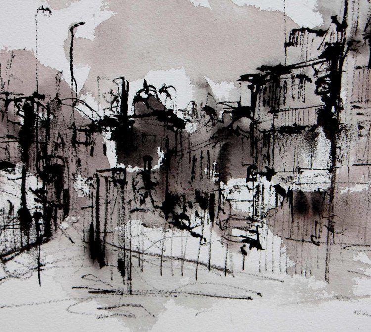 Current Work Emma Fitzpatrick Croquis Croquis A L Aquarelle