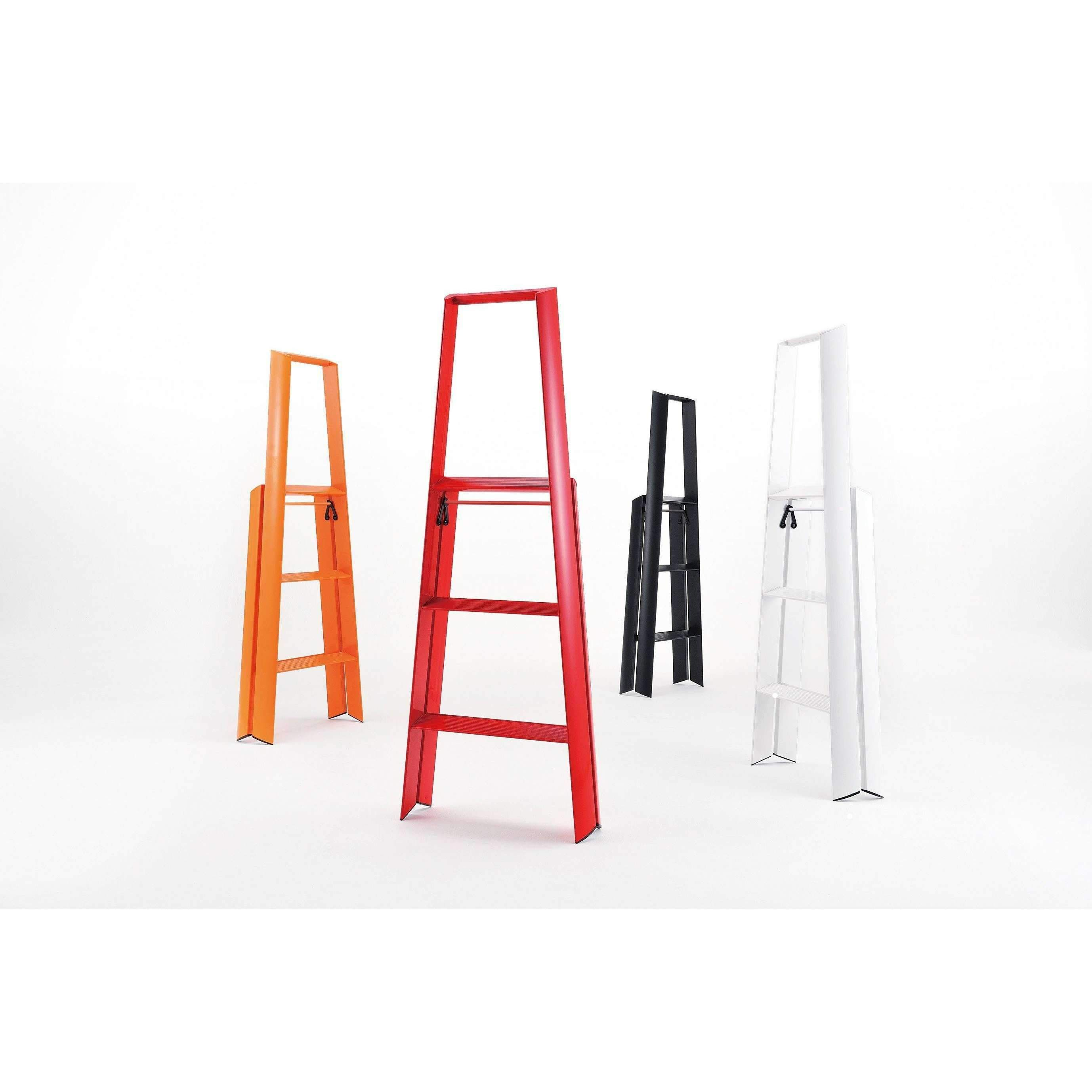 Lucano 3 Step Ladder Reddefault Title In 2020 Step Ladders 3 Step Ladder Kitchen Step Ladder